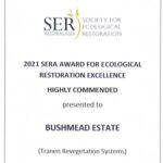 Bushmead Estate High Commendation 2021 SERA Awards